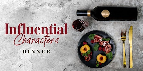 Influential Characters Dinner   Melbourne tickets