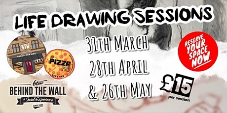 Life Drawing Spring Sessions tickets