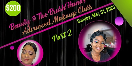 Beauty and The Brush Hands on Makeup Class tickets