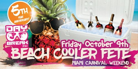 Miami Carnival Weekend DayBreak Miami Beach Cooler Fete Edition 2020 tickets