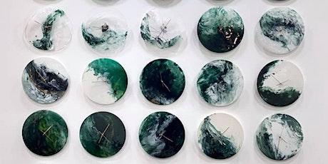 翠綠樹脂畫時鐘藝術工作坊 Green Resin Art Workshop tickets