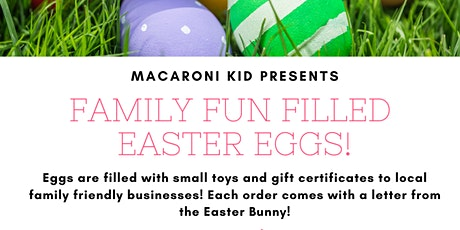 Family Fun Filled Easter Eggs! Order Today For Your Easter Hunt! tickets