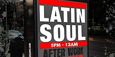 Latin Soul Fridays Afterwork at BLUE inside The Ri