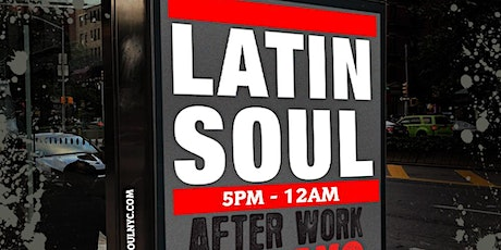 Latin Soul Fridays Afterwork at BLUE inside The Ribbon w/ DJ Precise tickets
