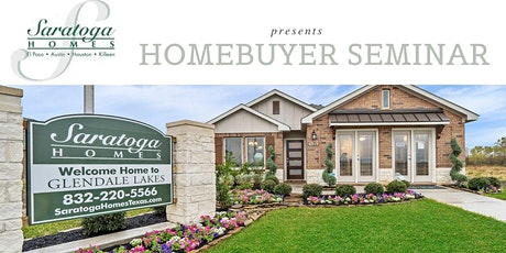 April 18: Home buyer Dream Team with Saratoga Homes - FREE  Seminar tickets