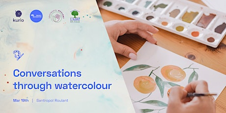 POSTPONED - Conversations through Watercolour Workshop tickets