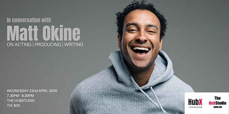 In conversation with MATT OKINE  on  Writing, Producing & Acting tickets