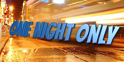 One Night Only  - Three Improvised Stories In One