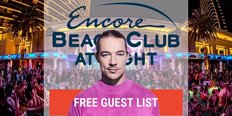 DIPLO PERFORMING LIVE AT ENCORE BEACH CLUB  AT NIGHT! - FREE GUEST LIST!!! tickets
