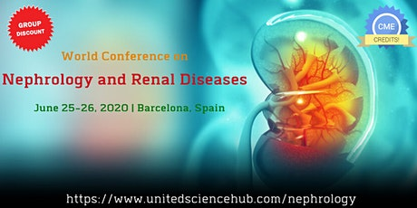 World Conference on Nephrology and Renal Diseases. entradas