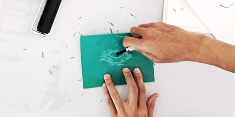 Linocut Print Making Workshop on Paper & Tote Bag tickets