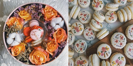 Macaroon Painting with Flower Arrangement (Mother's Day Special!) tickets