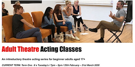 Adult  Beginner Theatre Acting Classes Perth tickets