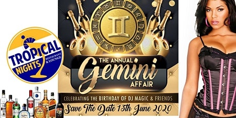 The Annual Gemini Affair tickets