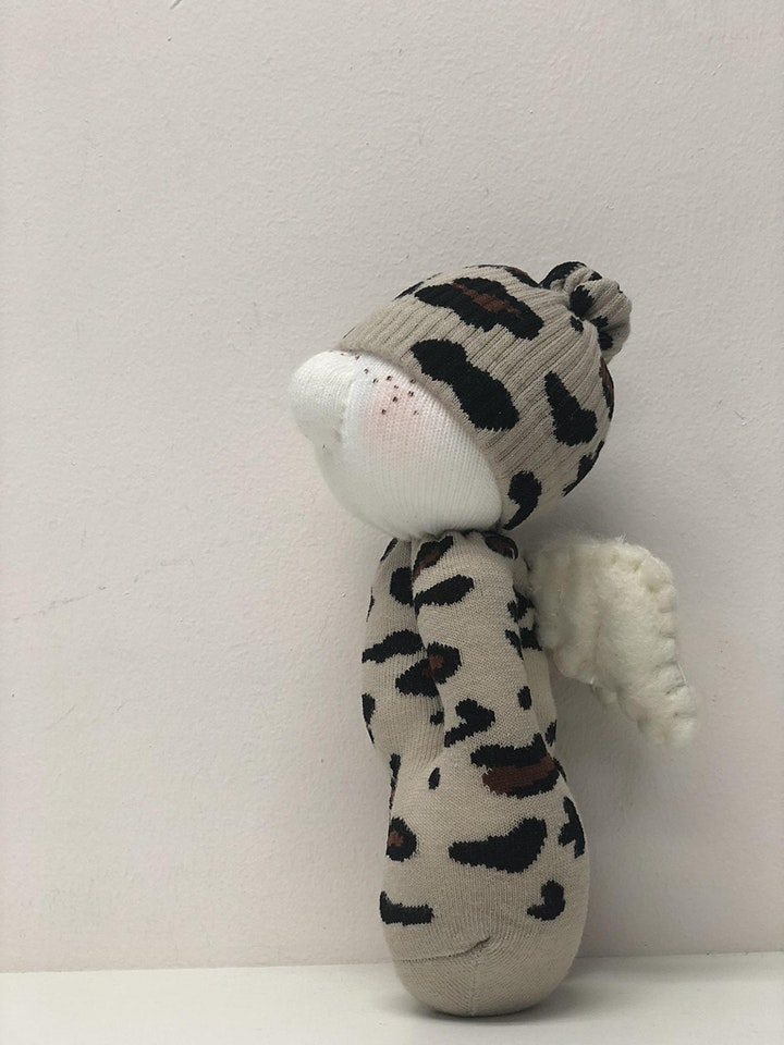 Sockcrafting - Mr/Miss  Freckle  (Beginner Friendly Class) image