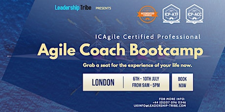 Agile Coach Bootcamp (ICP-ATF & ICP-ACC) | London - July 2020 tickets
