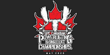 2020 GPC Canadian Powerlifting  & Single Lift Championships tickets