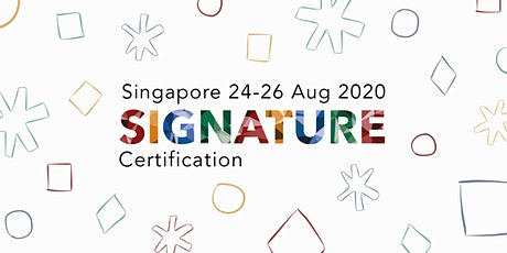 Birkman Signature Certification, Singapore, 24-26 August 2020 tickets