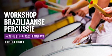 Workshop Braziliaanse Percussie door Eddie Conard tickets