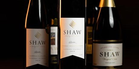 Shaw Wines Sydney Wine Dinner tickets
