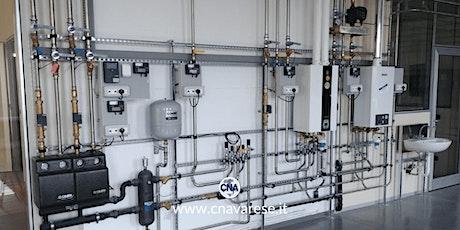 Aggiornamento per manutentori esperti di impianti termici alimentati a gas tickets