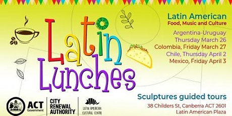 Postponed!! Free Guided Tours of Latin American Plaza tickets