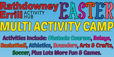 Rathdowney/Errill Activity Hub Easter Camp tickets