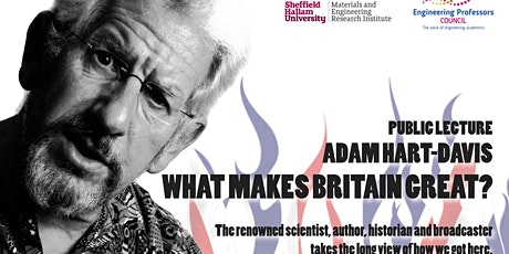 **POSTPONED** EPC Congress Public Lecture: Adam Hart-Davis: 'What makes Britain great?' tickets