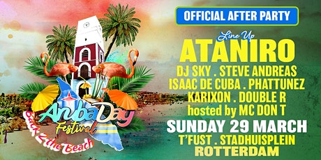 Arubadag Festival | Official afterparty tickets