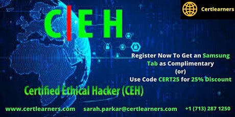 CEH v10  Certification Training in Boston, MA,USA tickets
