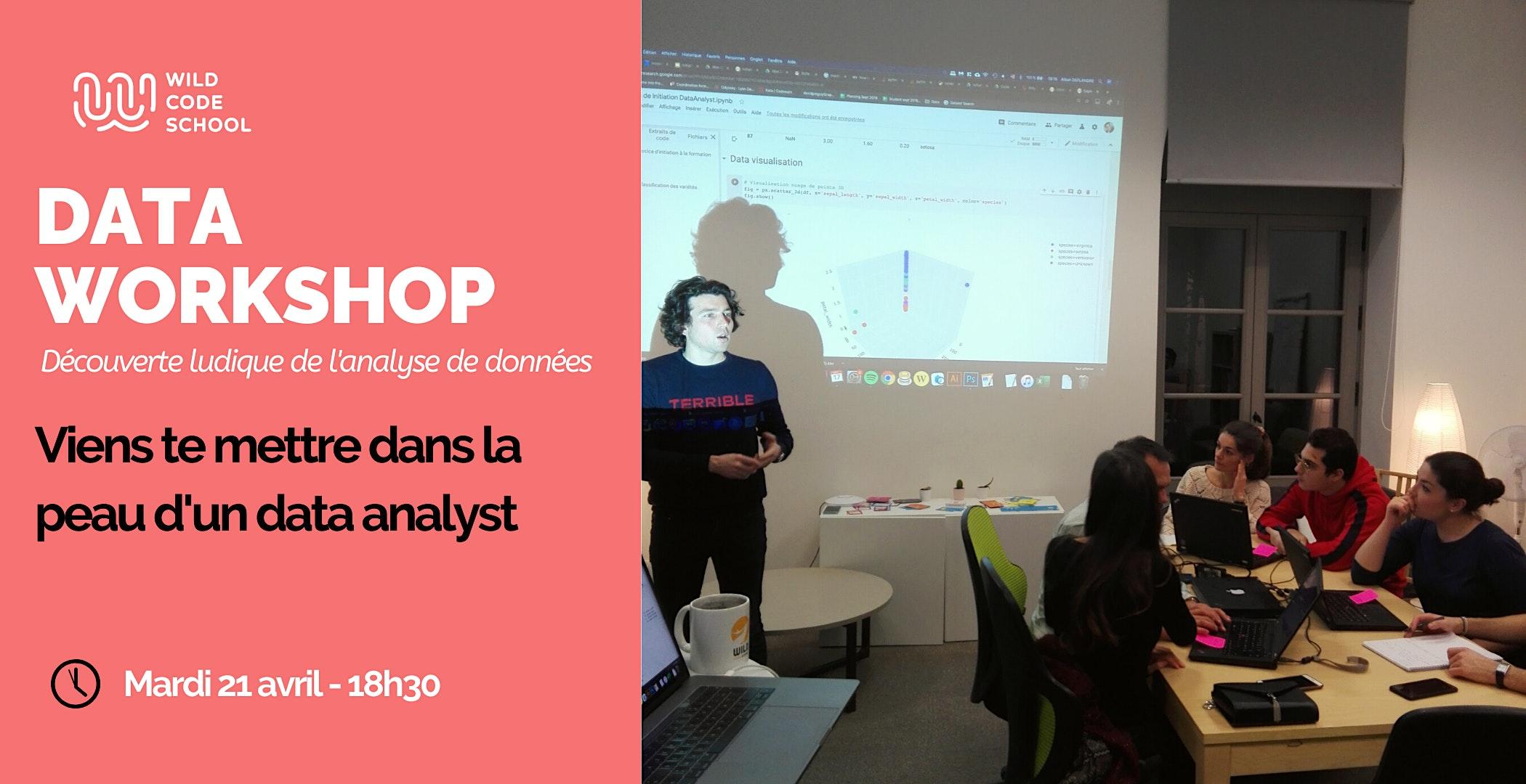 Data Workshop : Viens te mettre dans la peau d'un data analyst