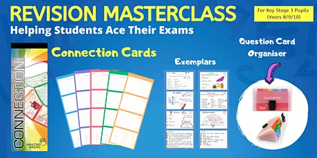 Revision Masterclass - Helping Students Ace Their Exams (Key Stage 3 Students) tickets