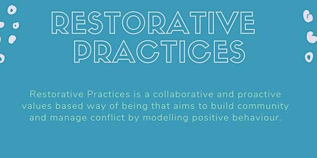 Getting Started with Restorative Practices, May 2020 tickets
