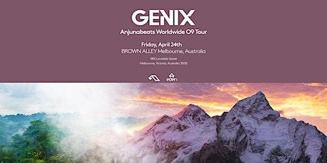 Genix Anjunabeats Worldwide 09 Tour Melbourne (Postponed) tickets