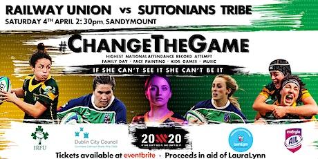 #ChangeTheGame tickets