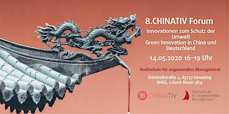 Innovationen zum Schutz der Umwelt – Green Innovation in China und Deutschland Tickets