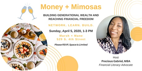 [POSTPONED] Money + Mimosas: Building Generational Wealth and Reaching Financial Freedom tickets