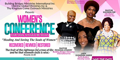Women Conference 2020: Our Goal Should Be Souls -Recovered Revived Restored tickets