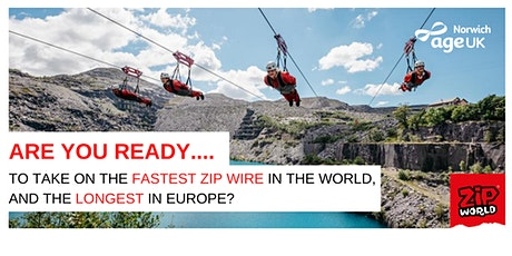 Ultimate Zip Wire Charity Fundraising Challenge tickets