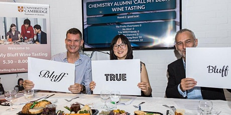 "Chemistry of Wine ""Call My Bluff"" Alumni Wine Tasting tickets"