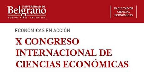 X Congreso Internacional de Ciencias Económicas entradas