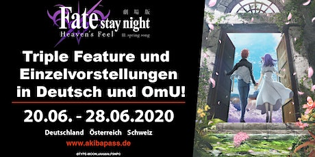 Fate/stay night [Heaven's Feel] - Stuttgart Tickets