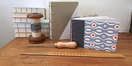 Handmade Bookbinding Notebook Workshop tickets