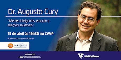 Dr. Augusto Cury no #CVVP  - (Evento Cancelado) ingressos