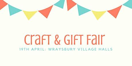 Handmade Craft & Gift Fair tickets