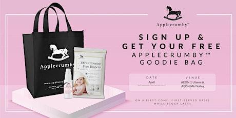 Applecrumby™ Goodie Bag @ AEON MV 0420 tickets