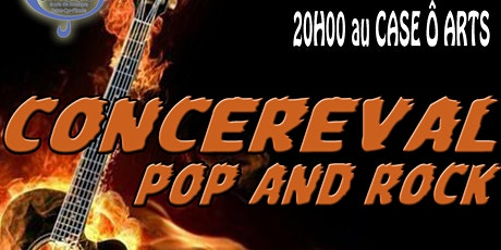 CONCEREVAL POP & ROCK 28/03/20 billets
