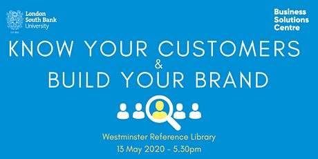 Know your customers and build your brand tickets