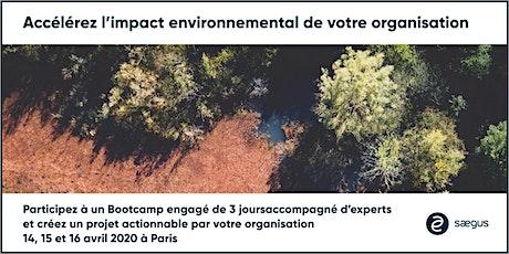 BOOTCAMP : Accélerez l'impact environnemental de votre organisation billets