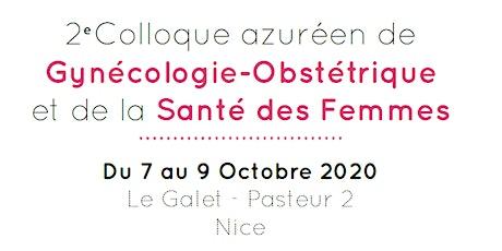 GYNECOLLOQUE - 2ème Colloque Azuréen de Gyn-Obst et en Santé de la Femme billets